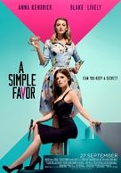 A Simple Favor - Dutch Movie Poster (xs thumbnail)
