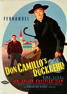 Le retour de Don Camillo - German Movie Poster (xs thumbnail)