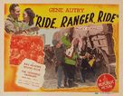 Ride Ranger Ride - Re-release poster (xs thumbnail)