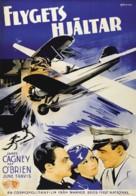 Ceiling Zero - Swedish Movie Poster (xs thumbnail)