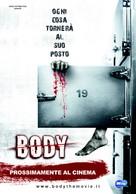 Body sob 19 - Italian Movie Poster (xs thumbnail)