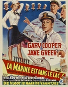 You're in the Navy Now - Belgian Movie Poster (xs thumbnail)