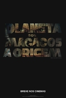Rise of the Planet of the Apes - Brazilian Movie Poster (xs thumbnail)
