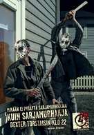 """Dexter"" - Finnish Movie Poster (xs thumbnail)"