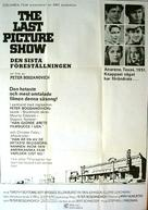 The Last Picture Show - Swedish Movie Poster (xs thumbnail)