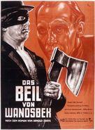 Beil von Wandsbek, Das - German Movie Poster (xs thumbnail)