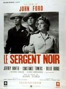 Sergeant Rutledge - French Movie Poster (xs thumbnail)