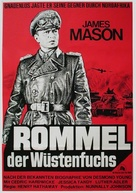 The Desert Fox: The Story of Rommel - German Movie Poster (xs thumbnail)