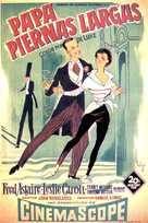 Daddy Long Legs - Spanish Movie Poster (xs thumbnail)