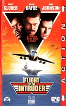 Flight Of The Intruder - French VHS cover (xs thumbnail)