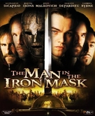 The Man In The Iron Mask - Blu-Ray cover (xs thumbnail)