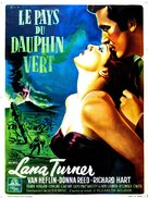 Green Dolphin Street - French Movie Poster (xs thumbnail)
