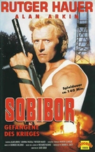 Escape From Sobibor - German VHS movie cover (xs thumbnail)