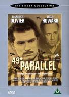 49th Parallel - British DVD cover (xs thumbnail)
