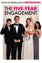The Five-Year Engagement - DVD movie cover (xs thumbnail)