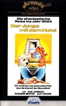 A Boy and His Dog - German VHS movie cover (xs thumbnail)