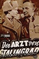 Der Arzt von Stalingrad - German poster (xs thumbnail)