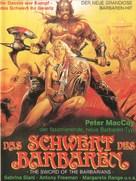 Sangraal, la spada di fuoco - German Movie Poster (xs thumbnail)