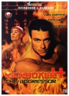 Kickboxer 4: The Aggressor - Polish Movie Cover (xs thumbnail)