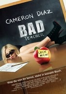 Bad Teacher - German Movie Poster (xs thumbnail)