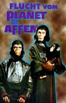 Escape from the Planet of the Apes - German VHS cover (xs thumbnail)