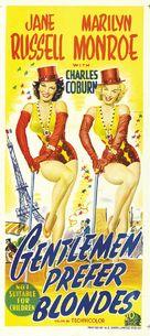 Gentlemen Prefer Blondes - Australian Theatrical movie poster (xs thumbnail)