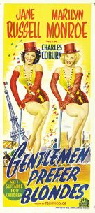 Gentlemen Prefer Blondes - Australian Theatrical poster (xs thumbnail)