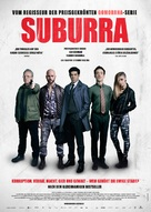 Suburra - German Movie Poster (xs thumbnail)