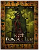 Not Forgotten - Movie Poster (xs thumbnail)