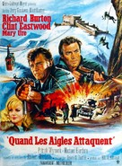Where Eagles Dare - French Movie Poster (xs thumbnail)