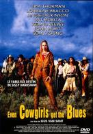 Even Cowgirls Get the Blues - French DVD movie cover (xs thumbnail)