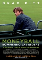 Moneyball - Spanish Movie Poster (xs thumbnail)