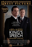 The King's Speech - Indonesian Movie Poster (xs thumbnail)