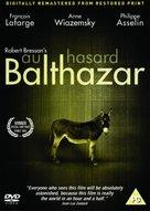 Au hasard Balthazar - British DVD movie cover (xs thumbnail)