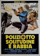 Poliziotto solitudine e rabbia - Italian Movie Poster (xs thumbnail)