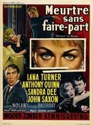 Portrait in Black - Belgian Movie Poster (xs thumbnail)
