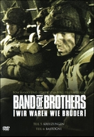 """Band of Brothers"" - German DVD movie cover (xs thumbnail)"