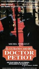 Docteur Petiot - Argentinian VHS cover (xs thumbnail)