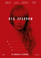 Red Sparrow - Italian Movie Poster (xs thumbnail)