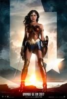 Justice League - Brazilian Movie Poster (xs thumbnail)