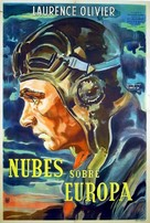 Clouds Over Europe - Argentinian Movie Poster (xs thumbnail)