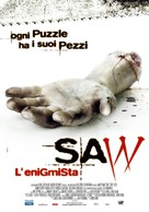 Saw - Italian Movie Poster (xs thumbnail)