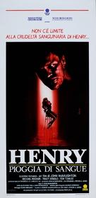 Henry: Portrait of a Serial Killer - Italian Movie Poster (xs thumbnail)