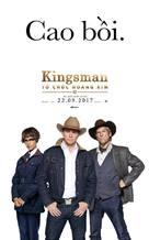 Kingsman: The Golden Circle - Vietnamese Movie Poster (xs thumbnail)