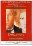 Le dernier métro - German Movie Poster (xs thumbnail)