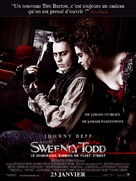 Sweeney Todd: The Demon Barber of Fleet Street - French Movie Poster (xs thumbnail)