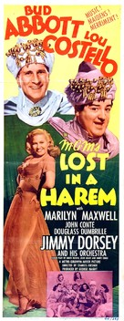 Lost in a Harem - Movie Poster (xs thumbnail)