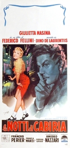Le notti di Cabiria - Italian Movie Poster (xs thumbnail)
