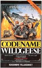 Geheimcode: Wildgänse - Finnish VHS cover (xs thumbnail)