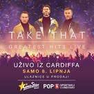Take That - Greatest Hits Live (Concert) - Croatian Movie Poster (xs thumbnail)